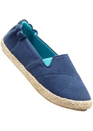 Mocassino, bpc bonprix collection, Blu scuro / verde mare