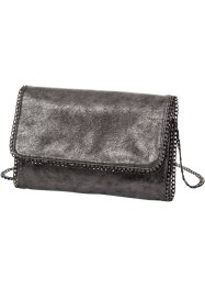 "Pochette ""Metallic"", bpc bonprix collection, Argento"