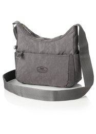 Borsetta a tracolla casual, bpc bonprix collection, Grigio scuro