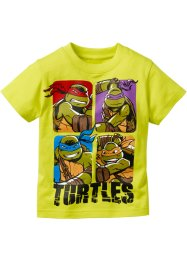 "T-shirt ""TURTLES"", Teenage Mutant Ninja Turtles, Lime Turtles"