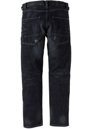 Jeans regular fit straight, RAINBOW, Antracite denim