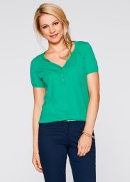 Blusa di maglina a manica corta, bpc bonprix collection