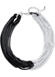 Collier, bpc bonprix collection, Nero / bianco