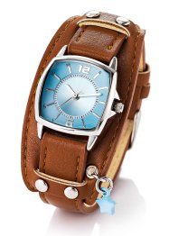Orologio con ciondolo, bpc bonprix collection, Marrone