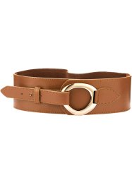 Cintura elasticizzata, bpc bonprix collection, Cognac