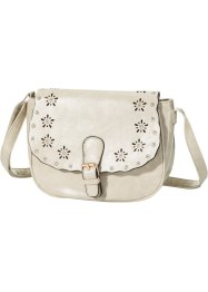 "Borsa a tracolla ""Lasercut"", bpc bonprix collection, Beige"