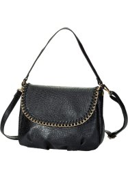 Borsa con catenella, bpc bonprix collection, Nero