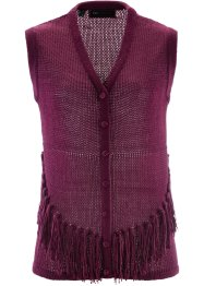 Gilet in maglia, bpc selection, Bacca