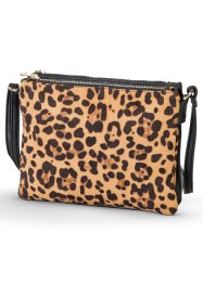 Borsa, bpc bonprix collection, Nero / leopardato
