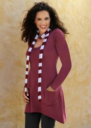 Pullover + sciarpina (set 2 pezzi) (bpc bonprix collection)