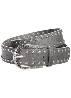 "Cintura ""Strass"", bpc bonprix collection, Grigio"