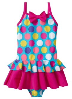 Costume intero, bpc bonprix collection, Multicolore a pois