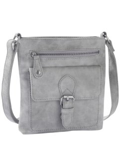 Borsetta a tracolla, bpc bonprix collection, Grigio