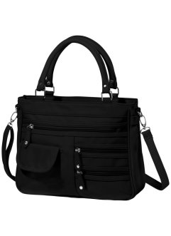 Borsa con porta ombrello, bpc bonprix collection, Nero