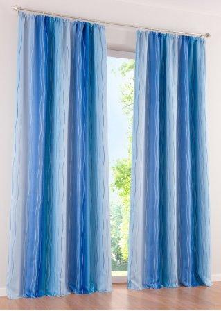 Tenda oscurante dacia fettuccia arricciatenda blu - Bonprix casa tende ...