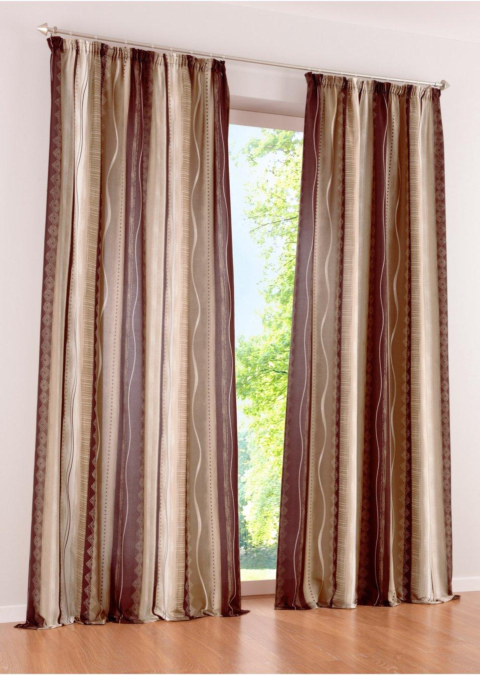 tenda mexico fettuccia arricciatenda marrone casa. Black Bedroom Furniture Sets. Home Design Ideas