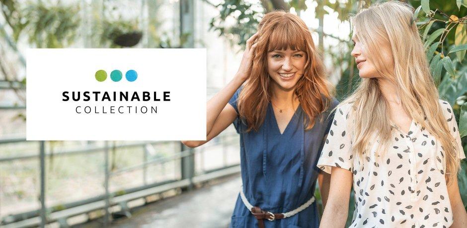 6cf93e17ca6b7 Donna - Tendenze   Ispirazioni - Collezioni - Collezione sostenibile