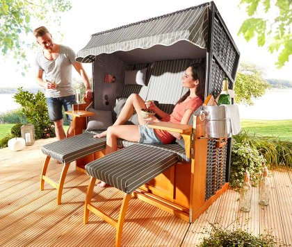 mobili da giardino comfort e praticit bonprix. Black Bedroom Furniture Sets. Home Design Ideas