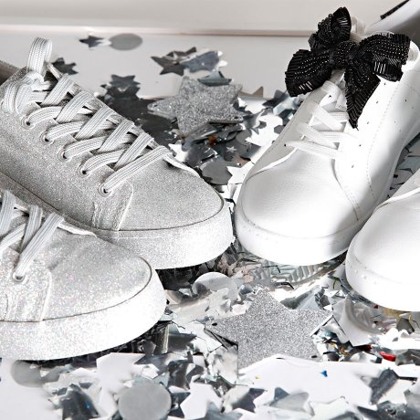 Donna - Sneaker - Bianco / argento