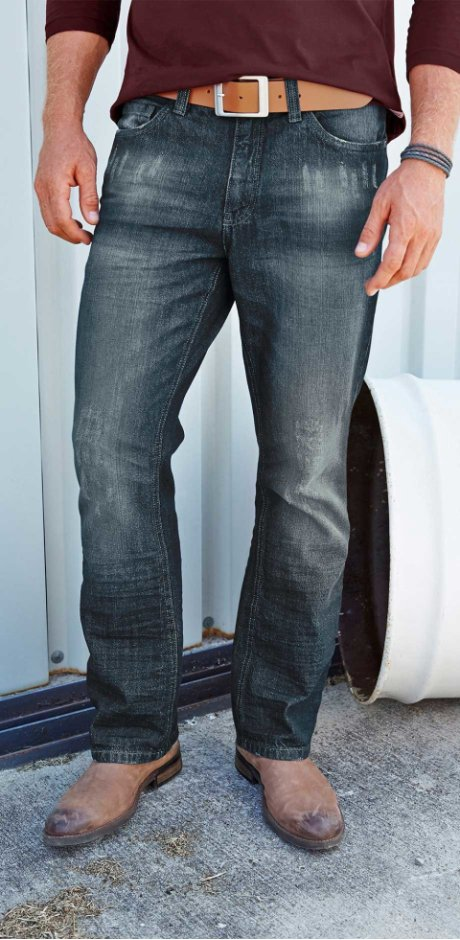 Uomo - Jeans BOOTCUT - Blu scuro