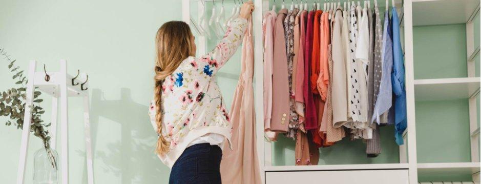 Come Organizzare L Armadio Vestiti.Come Organizzare L Armadio E I Vestiti Bonprix
