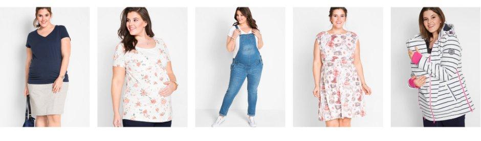 costo moderato ultimo di vendita caldo acquisto economico Abbigliamento premaman per taglie forti | bonprix