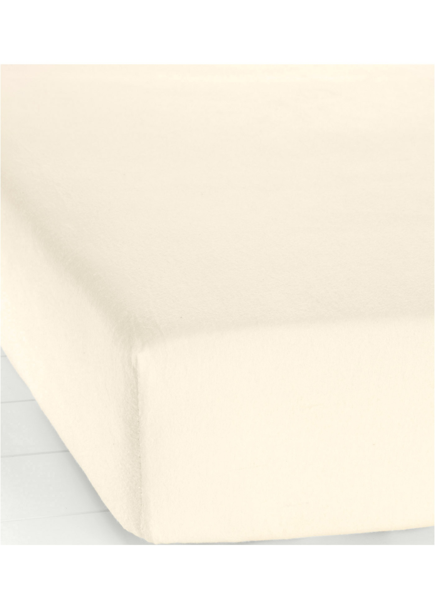 Lenzuolo con angoli in flanella (Beige) - bpc living bonprix collection
