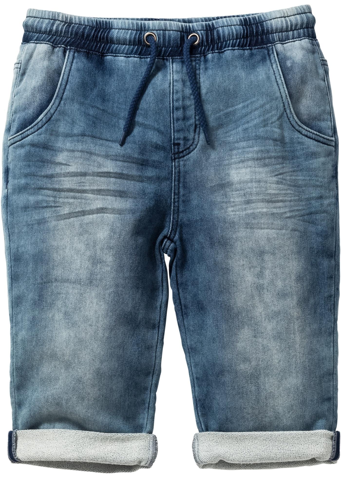 Bermuda in felpa effetto jeans (Blu) - John Baner JEANSWEAR