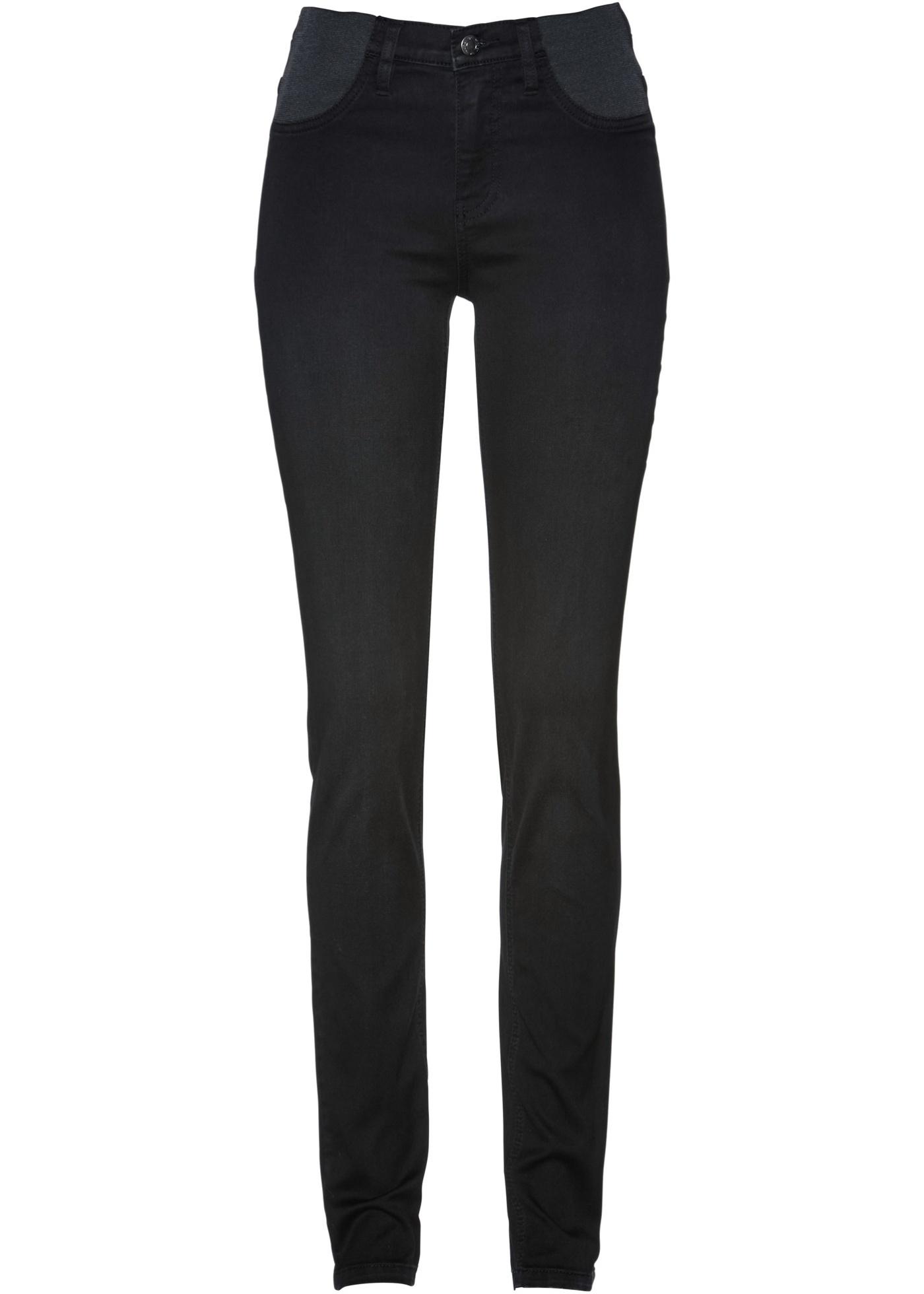 Jeans con cinta comoda (Nero) - bpc selection