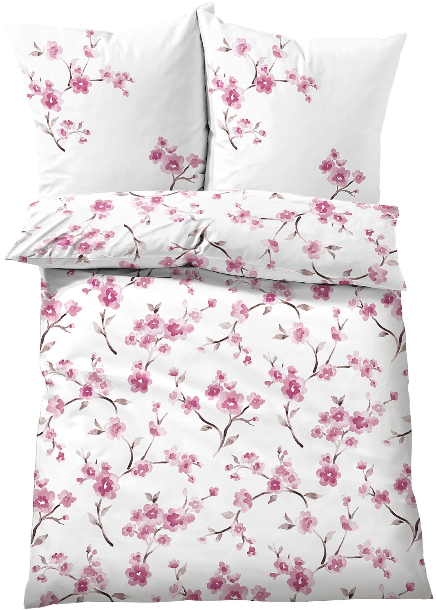 Biancheria da letto con fiori di ciliegio (rosa) - bpc living bonprix collection