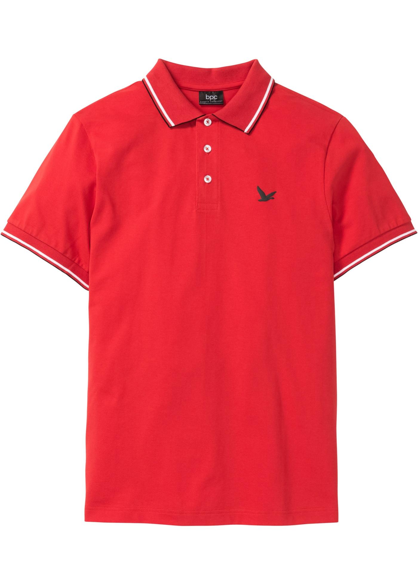 Polo in piquet (Rosso) - bpc bonprix collection