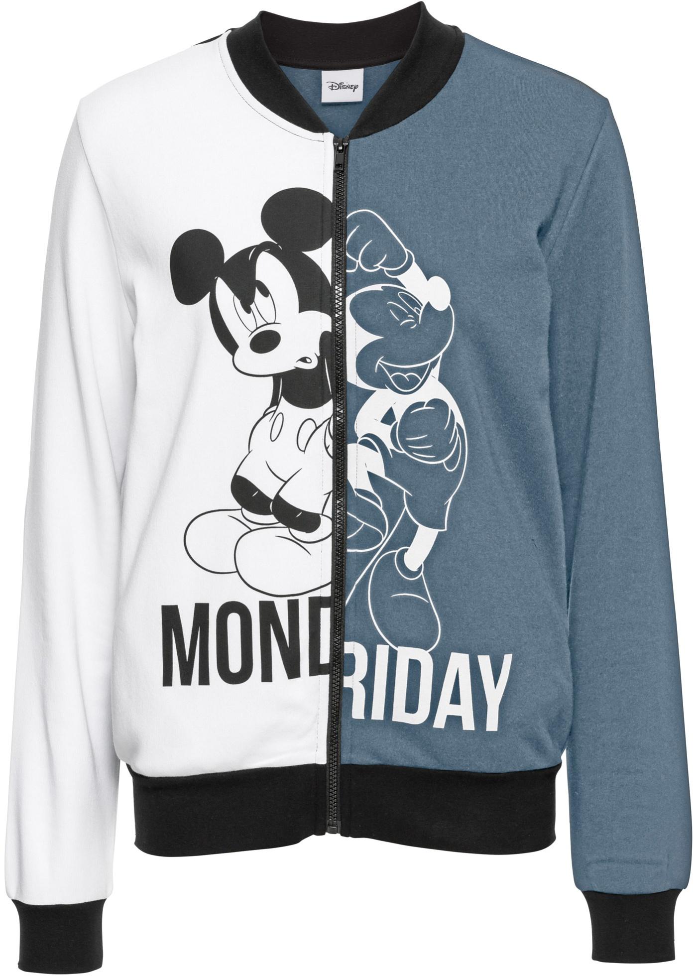 Giacca college in felpa Mickey Mouse (Grigio) - Disney