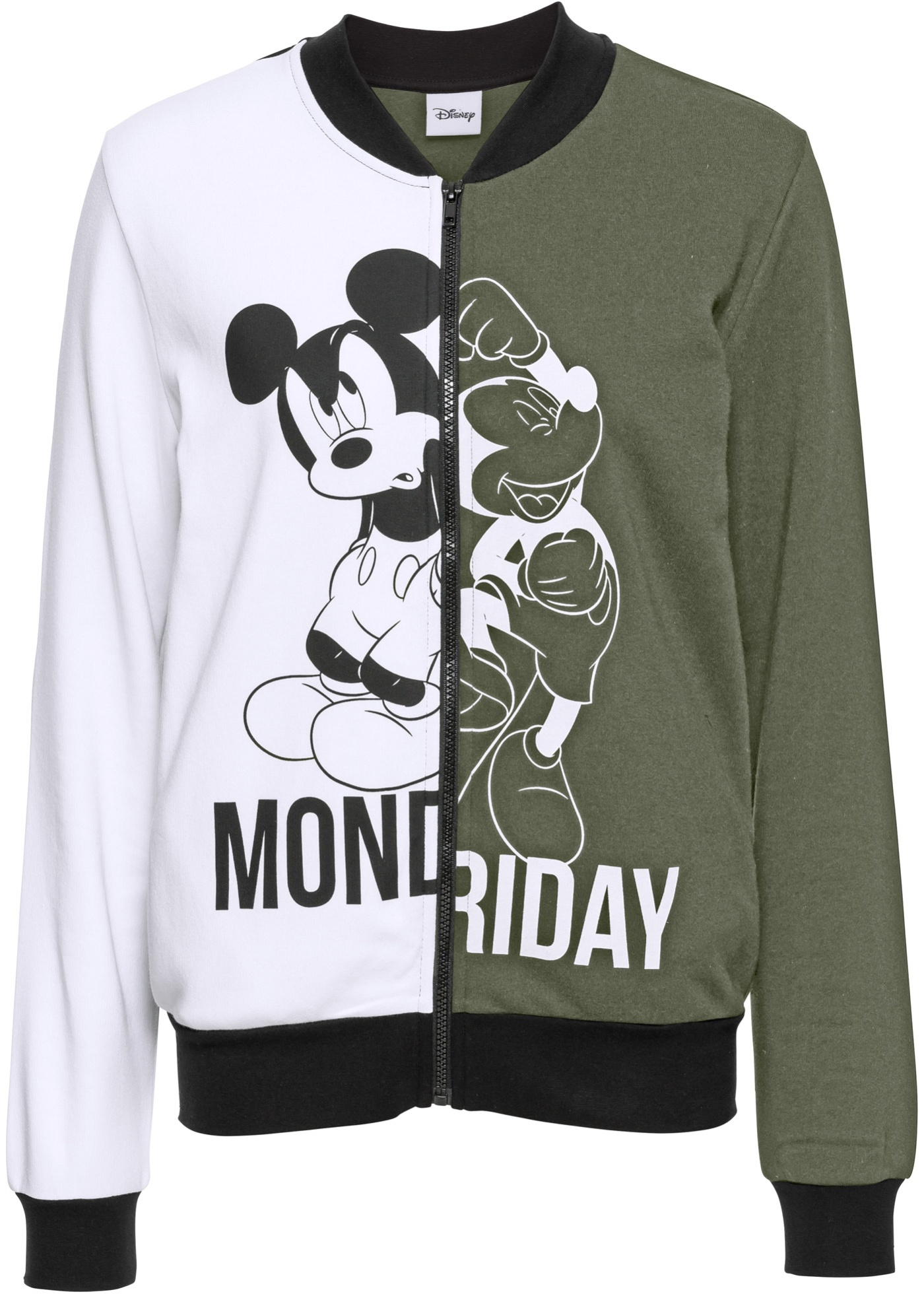 Giacca college in felpa Mickey Mouse (Verde) - Disney