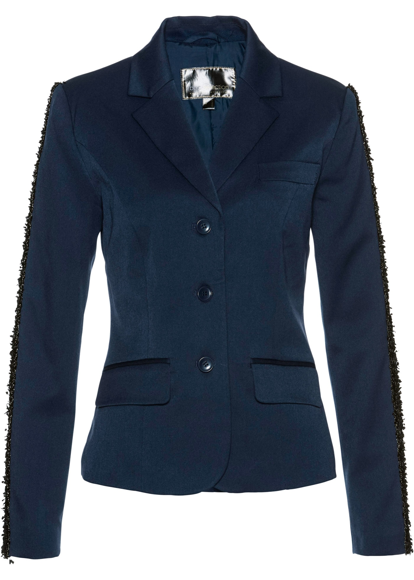 Blazer con galloni (Blu) - bpc selection