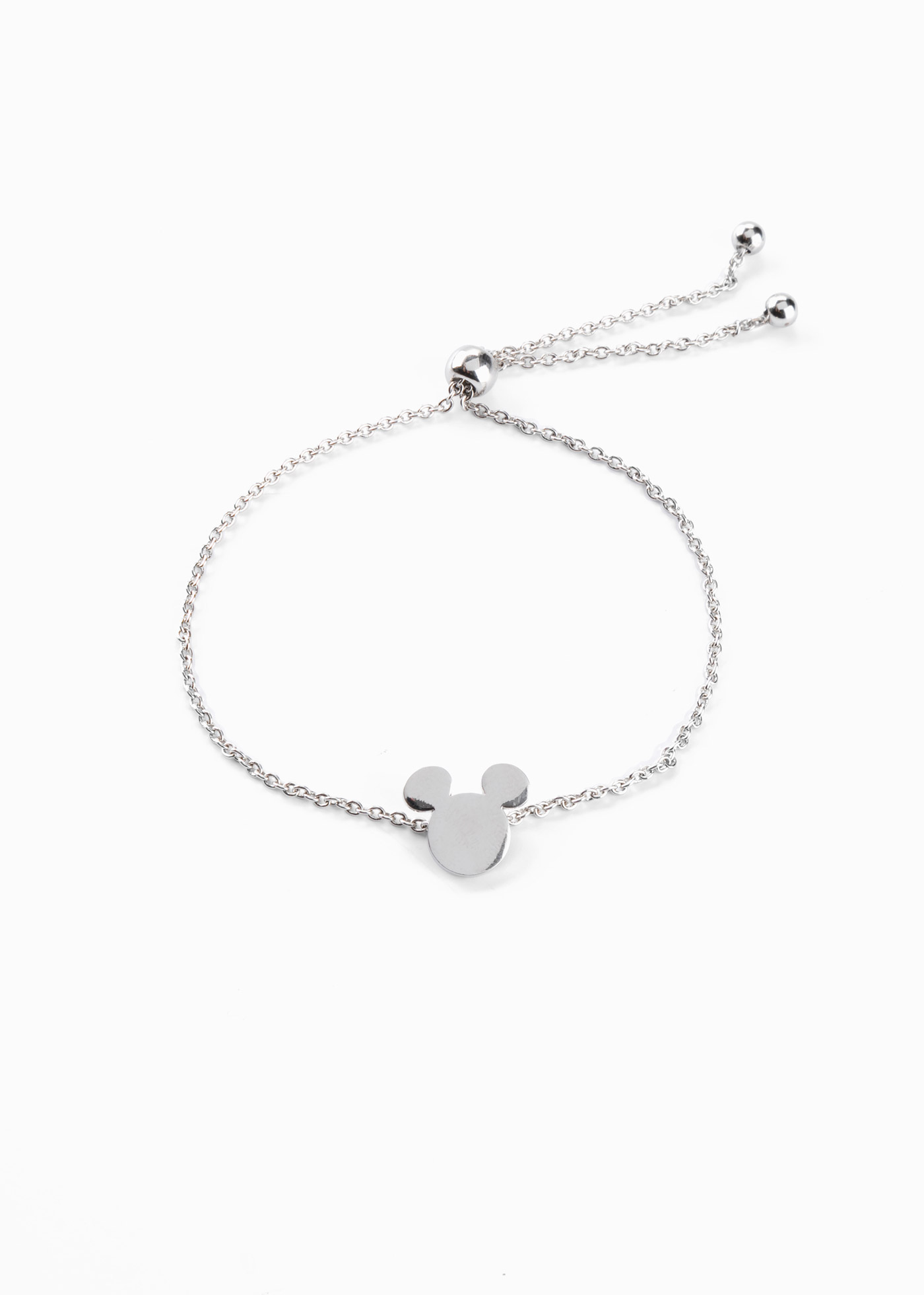 Bracciale con Mickey Mouse (Argento) - Disney