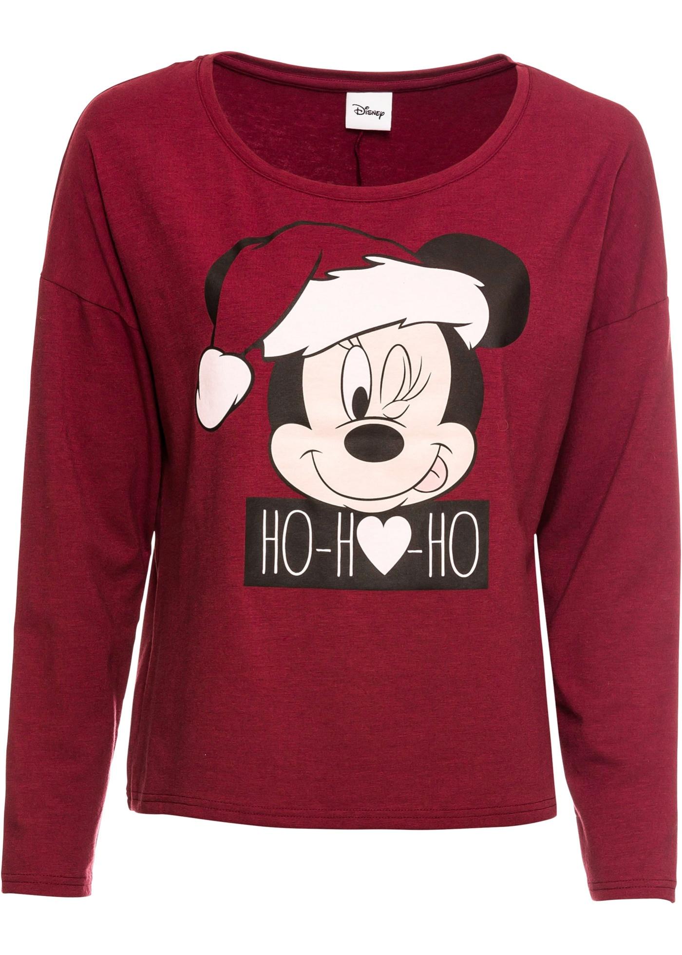 Maglia a maniche lunghe con Mickey Mouse (Rosso) - Disney
