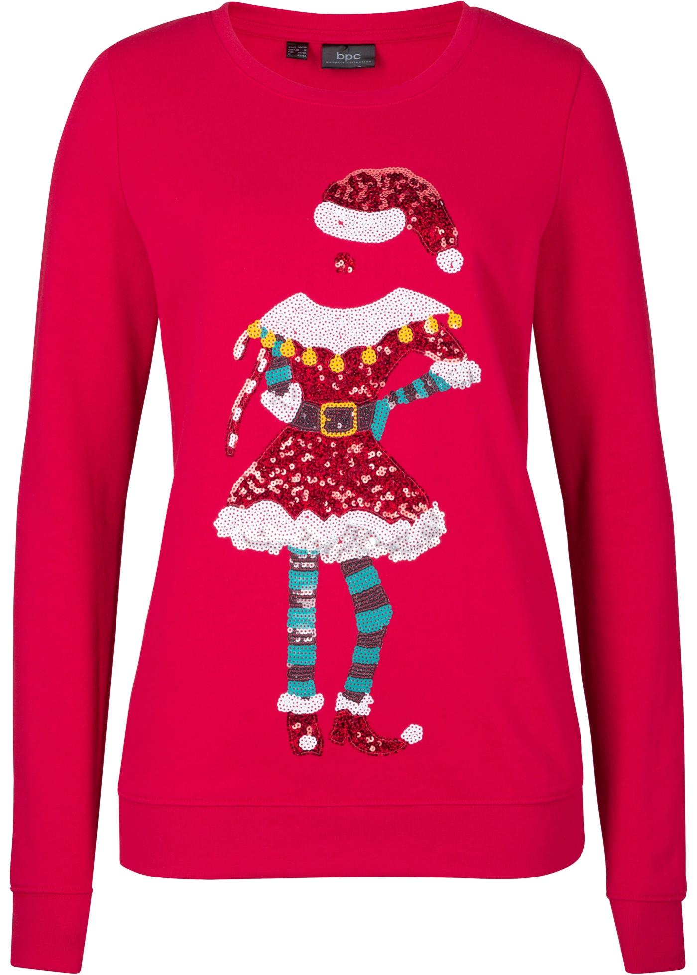 Felpa natalizia (Rosso) - bpc bonprix collection