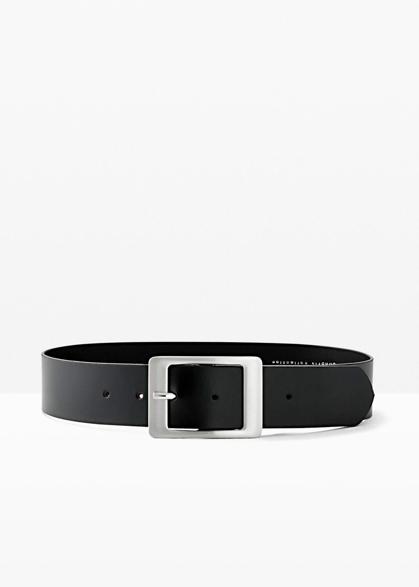 Cintura in pelle Kayla (Nero) - bpc bonprix collection