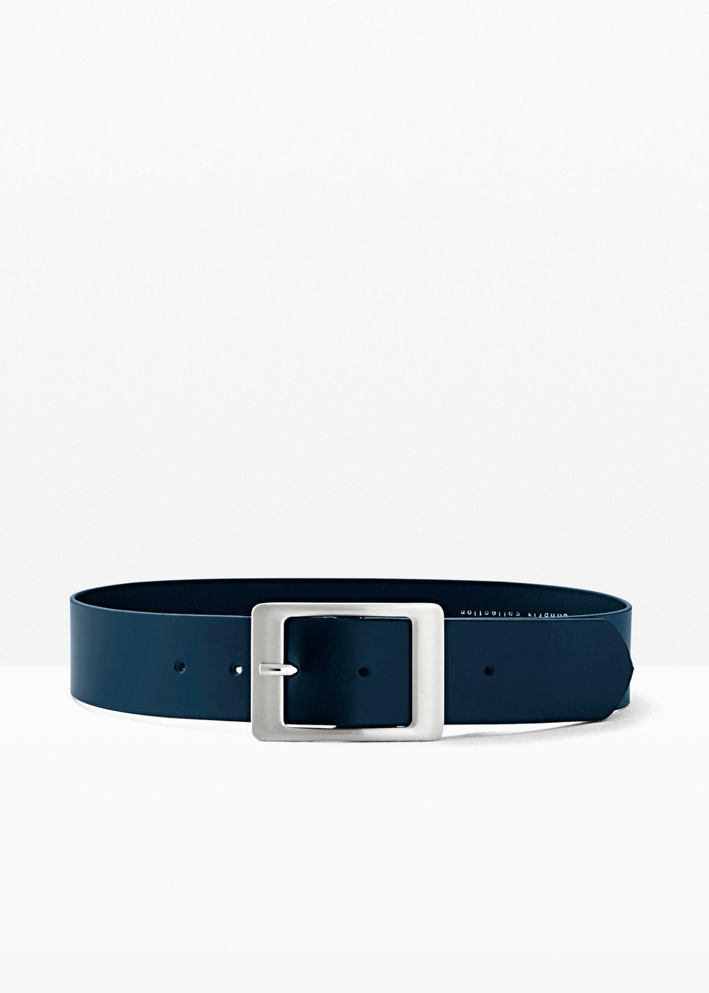 Cintura in pelle (Blu) - bpc bonprix collection