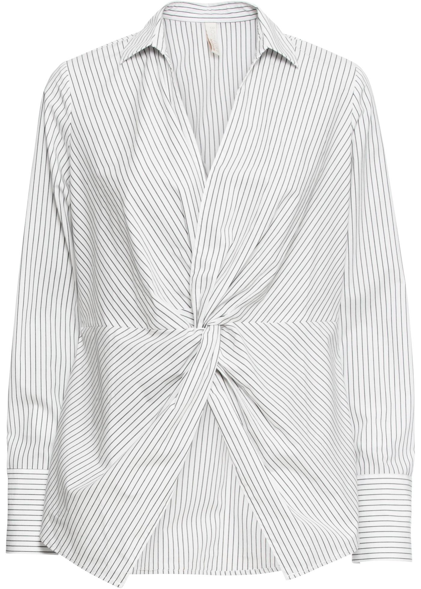 Blusa incrociata (Bianco) - BODYFLIRT boutique