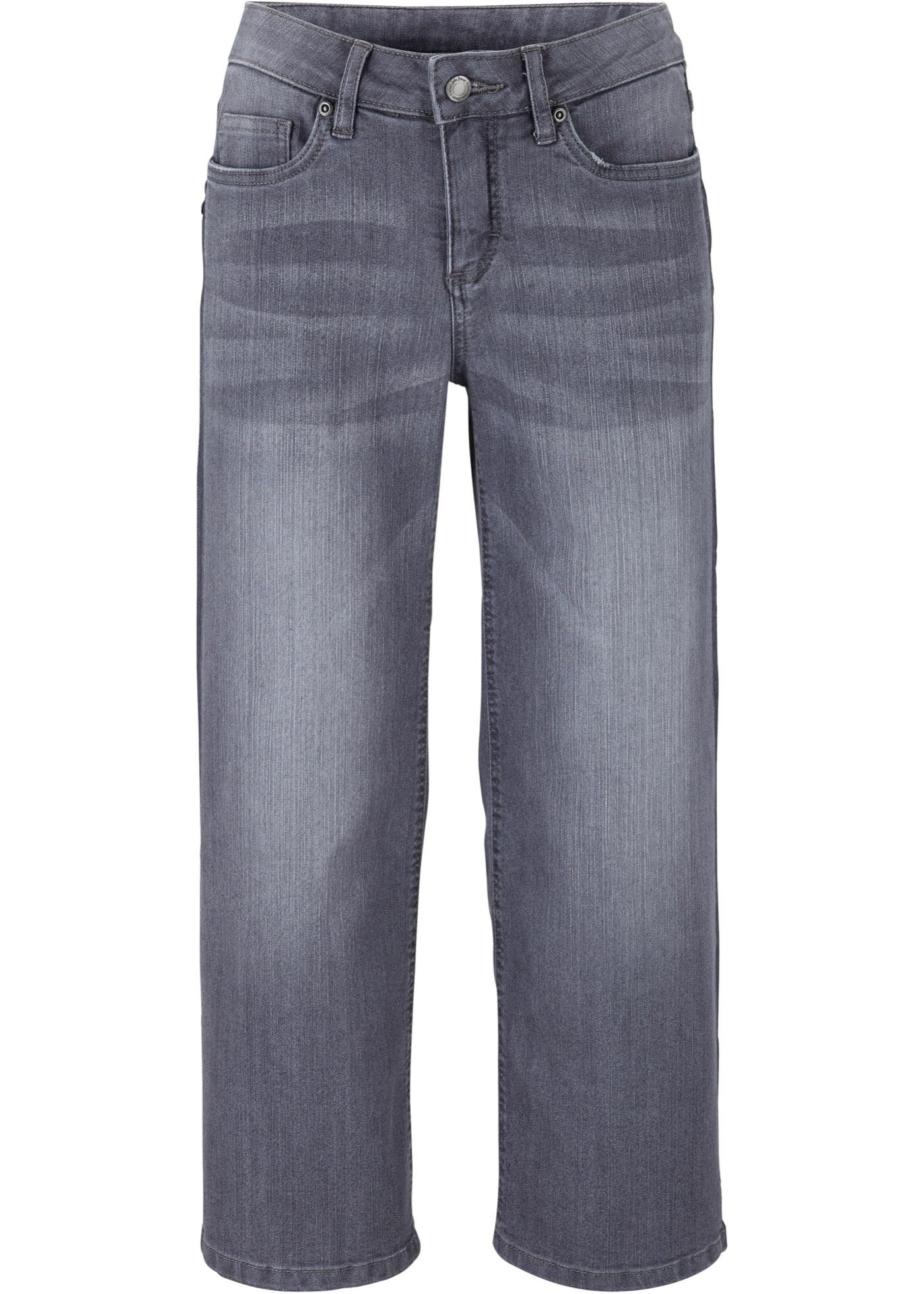 Culotte di jeans elasticizzata (Grigio) - John Baner JEANSWEAR