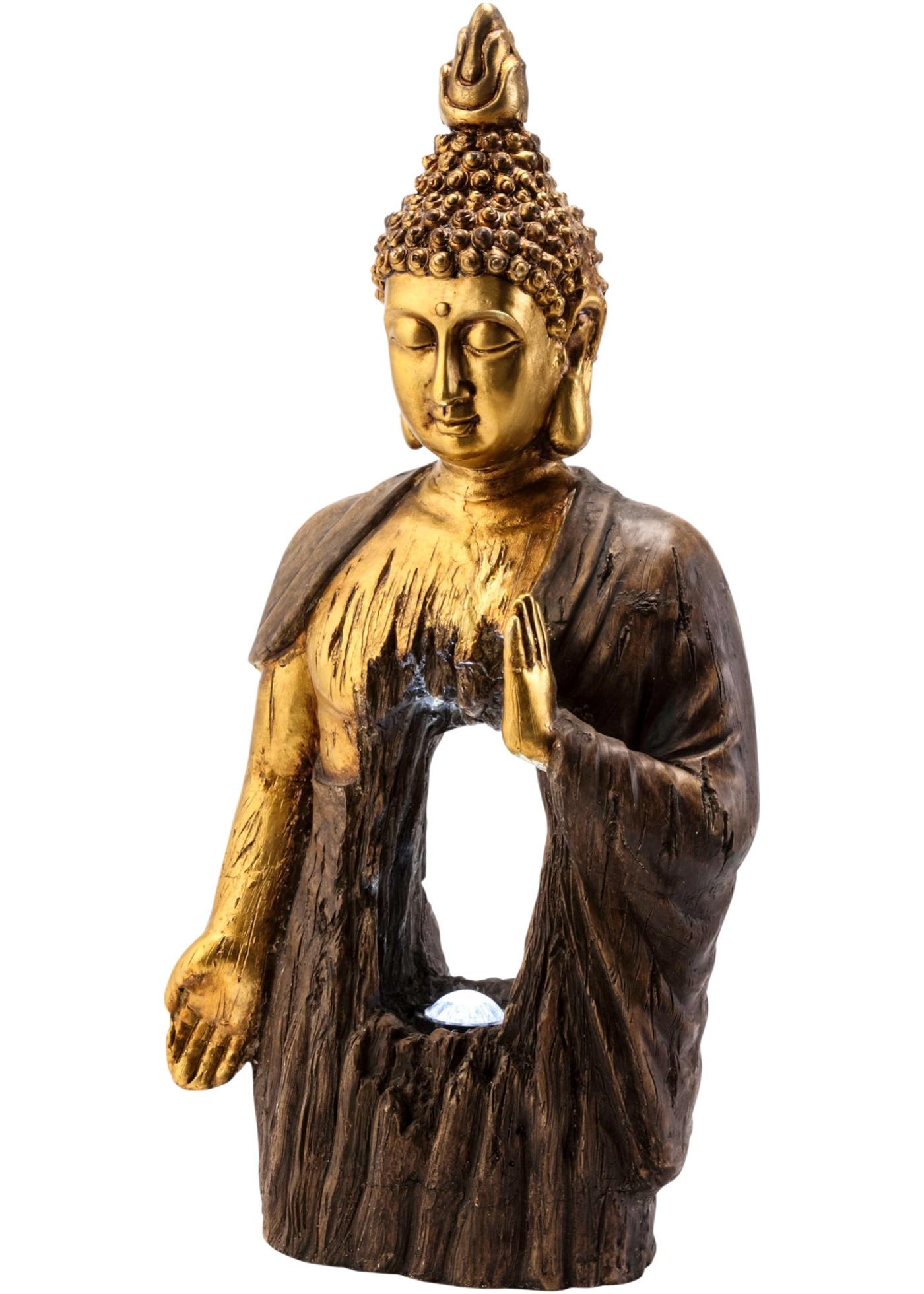 Buddha con lampada solare (Marrone) - bpc living bonprix collection
