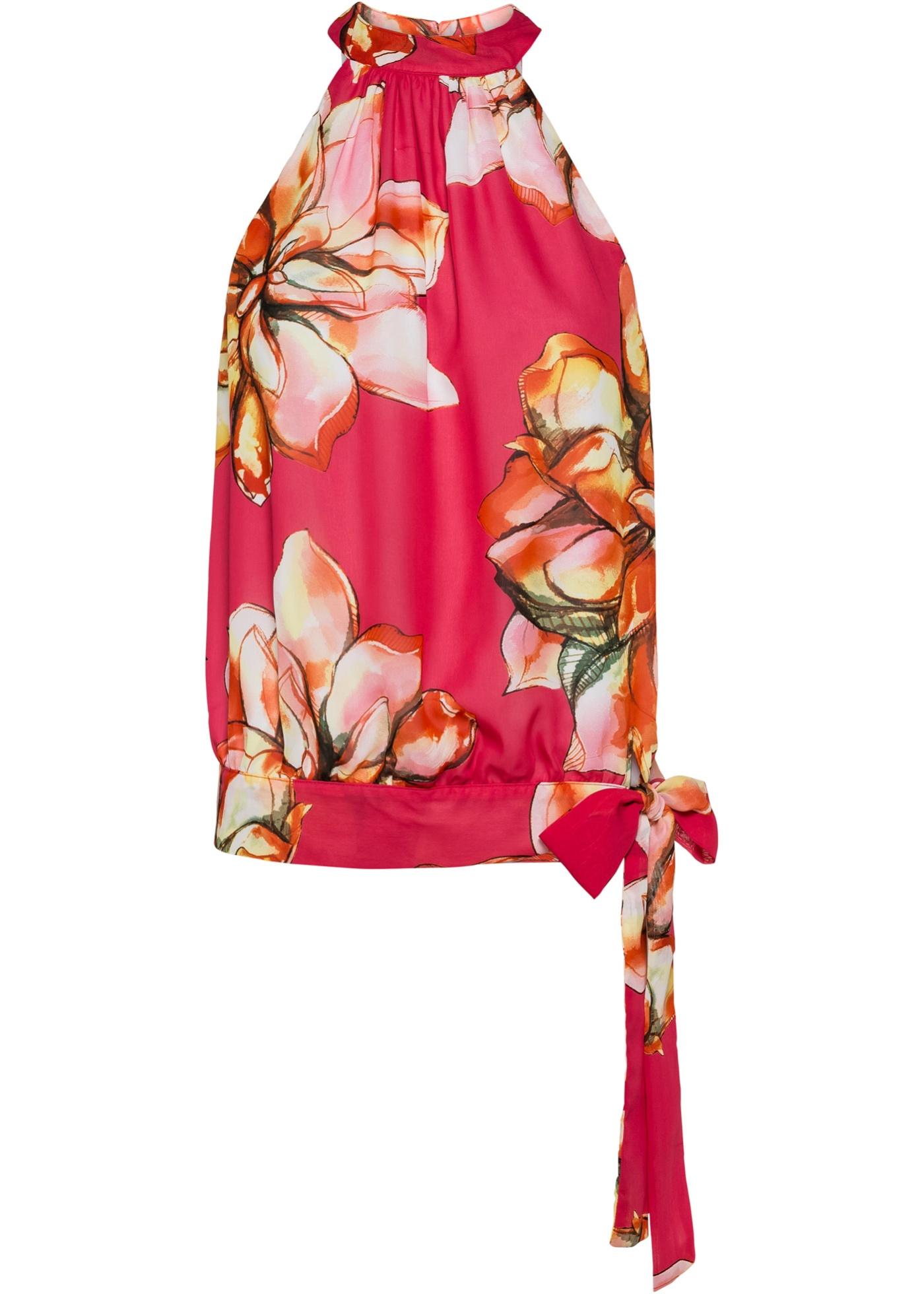 Blusa a fiori (rosa) - BODYFLIRT boutique