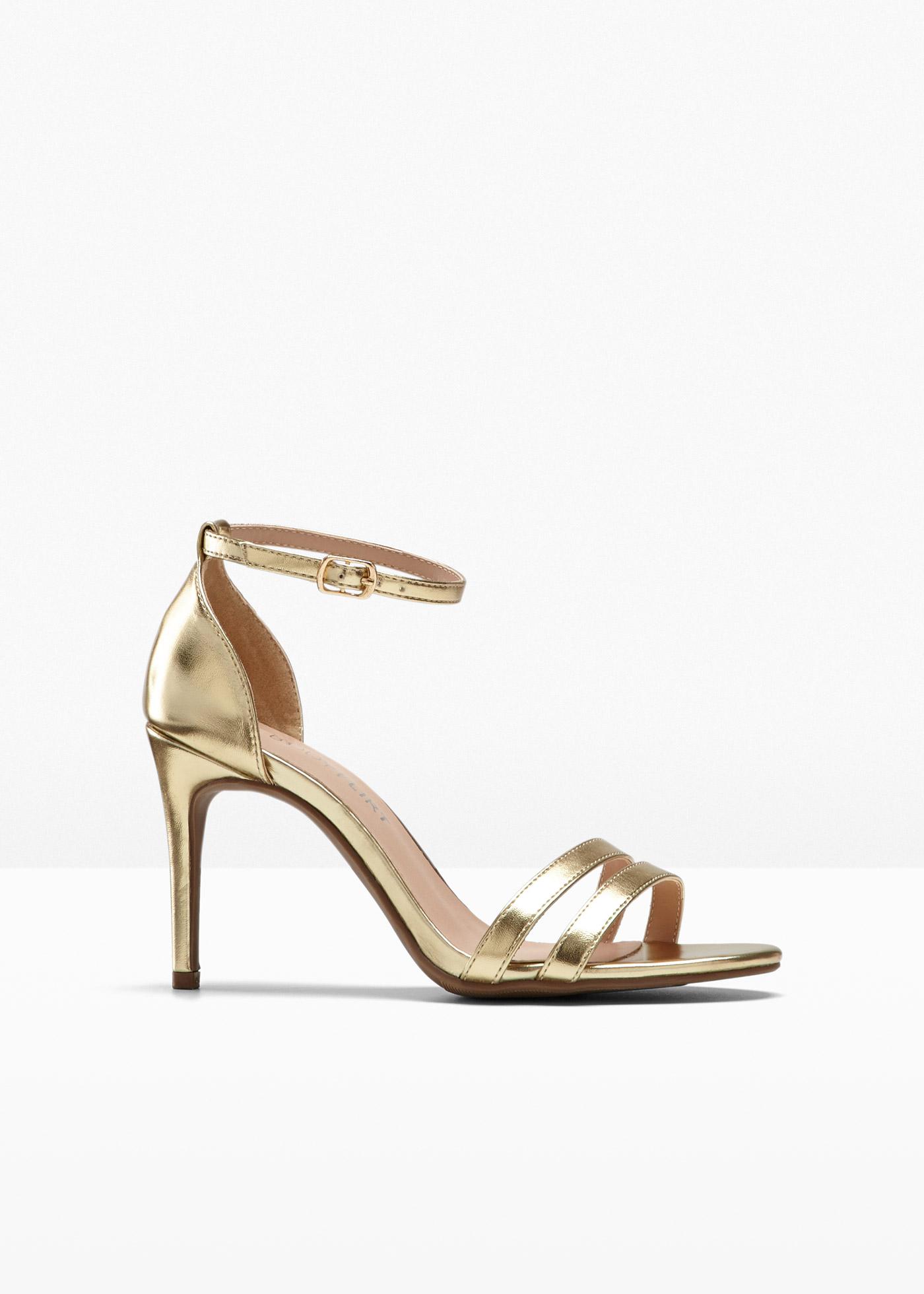 Sandali con tacco (Oro) - BODYFLIRT