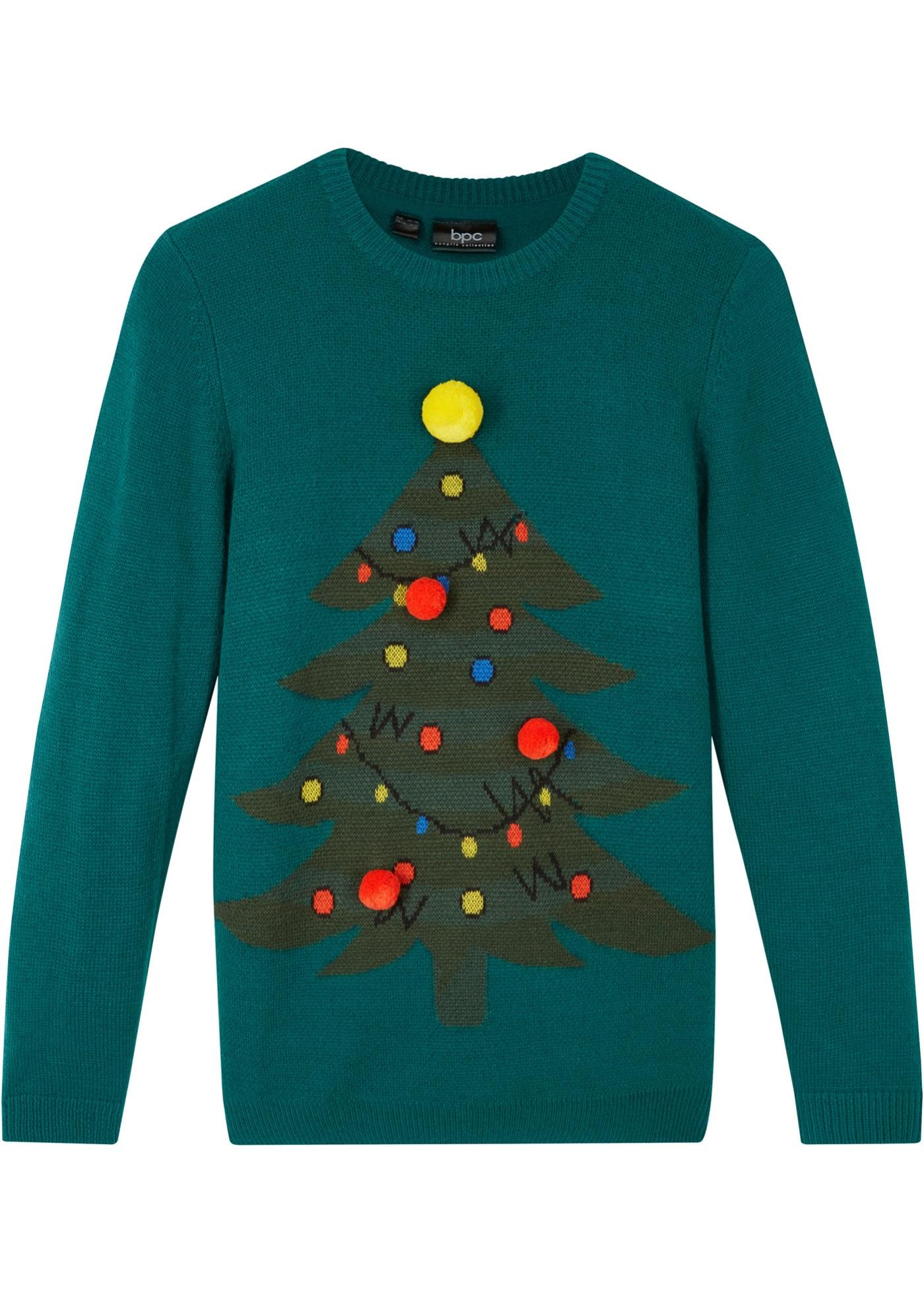 Maglione natalizio (Verde) - bpc bonprix collection