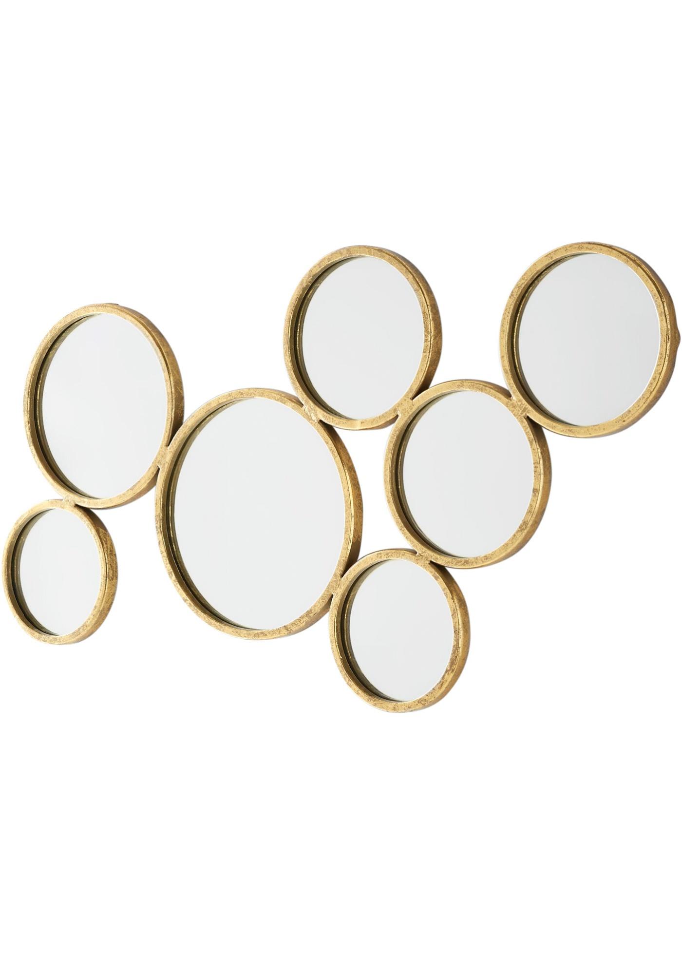 Decorazione da parete con specchio (Oro) - bpc living bonprix collection