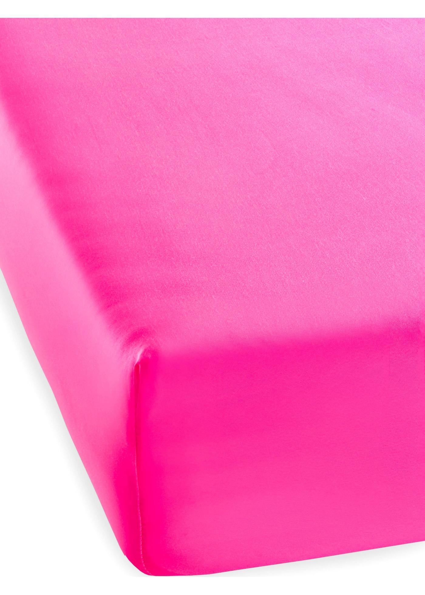 Lenzuolo con angoli in colore neon (Fucsia) - bpc living bonprix collection