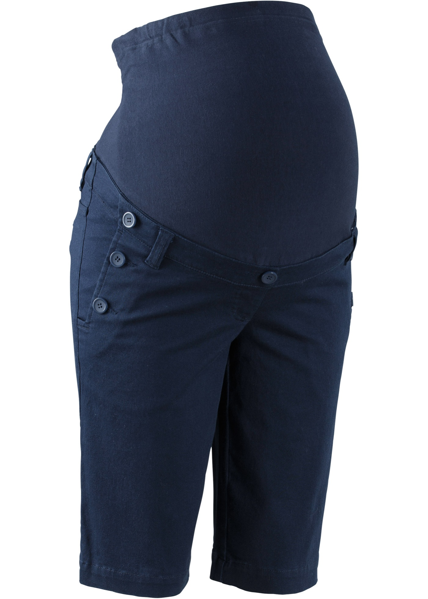 Pantaloncino prémaman con bottoni (Blu) - bpc bonprix collection