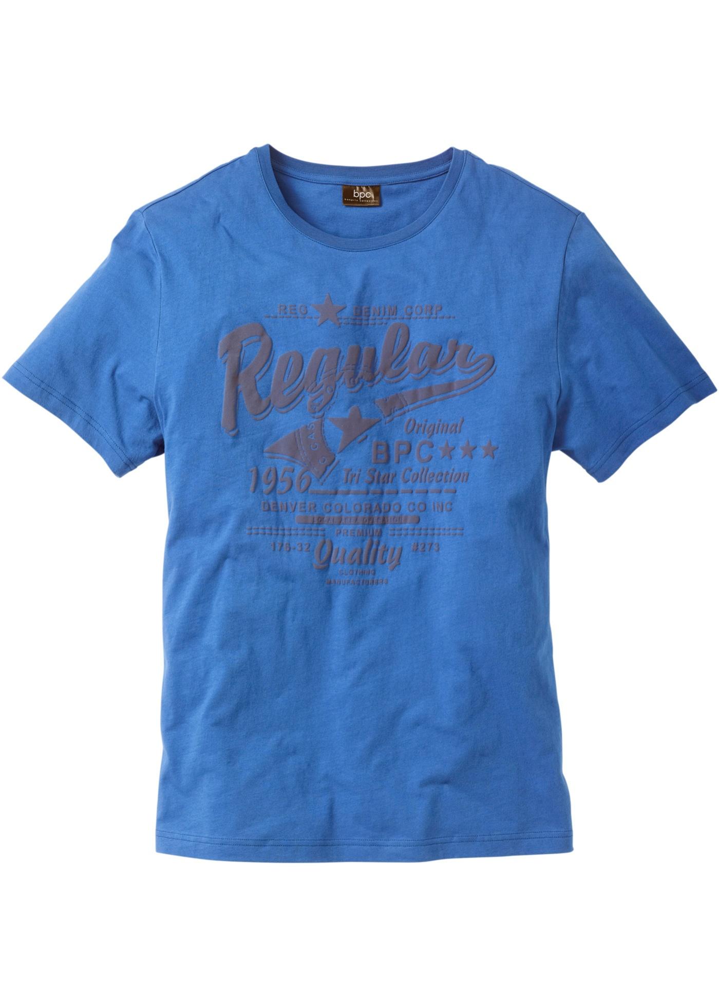 T-shirt stampata  Blu  -