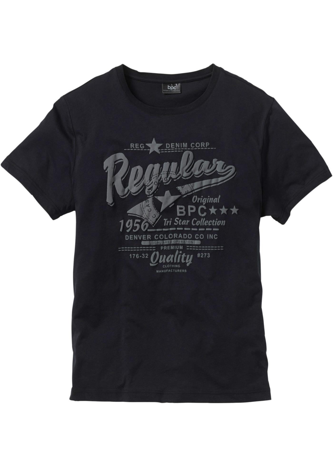 T-shirt stampata  Nero  -